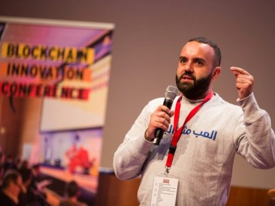 """He Created his Blockchain Startup at the Refugee Camp. Now He's on a Mission to Help the World's """"Invisible Children"""""""