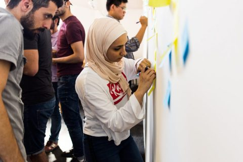 Coding school for refugees