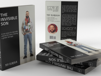 "Blockchain Entrepreneur Tey Al-Rjula Launches His Book ""The Invisible Son"""