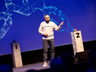 """Podcast: How This """"Invisible Man"""" Created a Blockchain Startup in a Refugee Camp"""